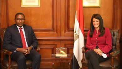 الدكتورة رانيا المشاط والمستشار الخاص للأمين العام للأمم المتحدة