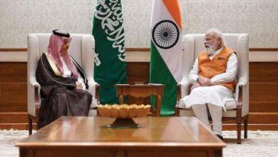 السعودية والهند تبحثان «توطيد الشراكة»