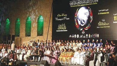 بدء فعاليات مهرجان «سماع» الدولي للإنشاد والموسيقى الروحية بالقلعة وسط أجواء احتفالية