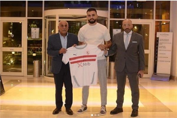حمدى النقاز مع رئيس النادي