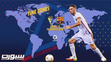 تشكيل برشلونة المتوقع أمام قادش
