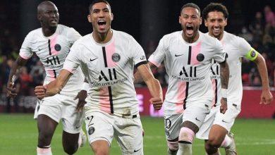 حكيمي يقود باريس سان جيرمان لانتصار صعب على ميتز باللحظات الأخيرة