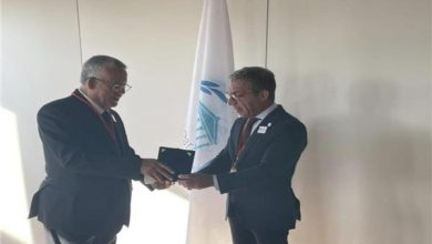 حنفي جبالي يلتقي رئيس الاتحاد البرلماني الدولي