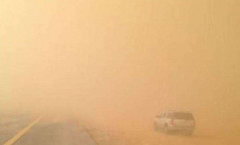 الأرصاد: رياح وأتربة وغبار على عدة مناطق اليوم