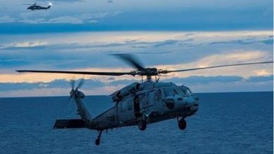 سقوط مروحية تابعة للبحرية الأمريكية قبالة ساحل كاليفورنيا