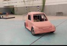 طلاب بهندسة حلوان يصممون سيارة كهربائية خفيفة الوزن ذات مقعد واحد