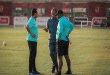 عبد الحفيظ يجتمع مع موسيماني على هامش التدريبات