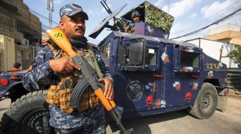 عشرات القتلى والجرحى في صفوف الشرطة العراقية