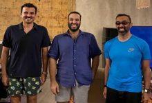 تميم وبن سلمان وطحنون بن زايد
