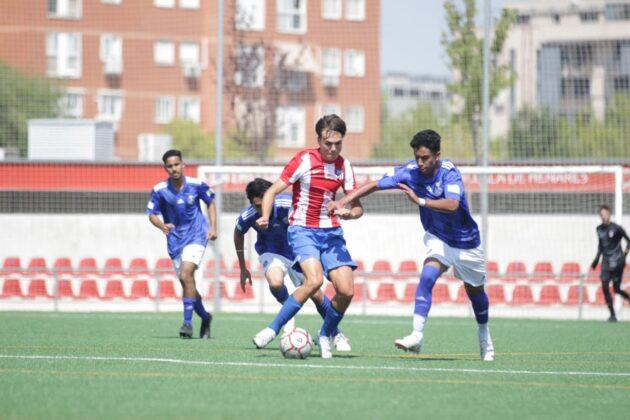 فريق نخبة لاعبي دوري المدارس ينهي مرحلة مدريد بتجربة مع اتلتيكو
