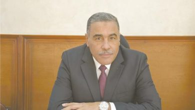 اللواء خالد شعيب خلال حواره مع «الأخبار»