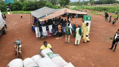 مركز الملك سلمان للإغاثة يواصل توزيع المساعدات الغذائية في جمهورية مالي - صحيفة عين الوطن