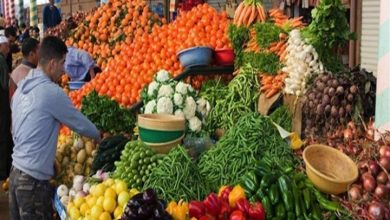 نشرة أسعار الخضروات والفاكهة بسوق الجملة اليوم