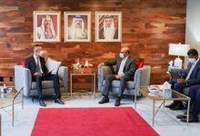 وزير الخارجية يجتمع مع وزير خارجية جمهورية هنغاريا