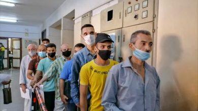 وكيل صحة الشرقية يتابع تطعيم المسافرين والمواطنين بلقاح كورونا