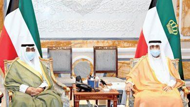 الأمير وولي العهد يستقبلان رئيس الوزراء