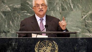 بدء كلمة الرئيس عباس في أعمال الدورة السادسة والسبعين للجمعية العامة للأمم المتحدة