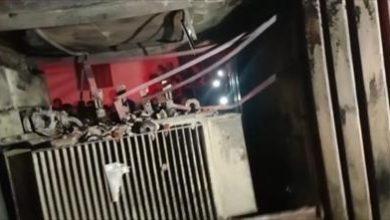 السيطرة على حريق بمحول كهرباء في كوم حمادة